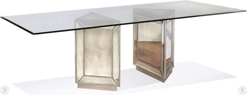 Omni Mirrored Dining Table