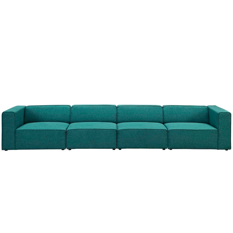 Mingle 4 Piece Fabric Sectional