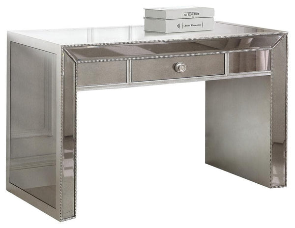 Omni Mirrored Console Vanity - hollywood-glam-furnitures