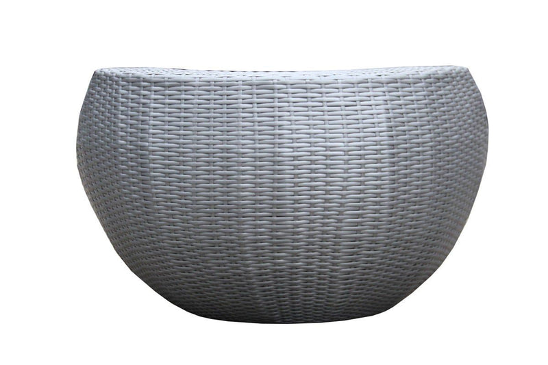 Renava Ovum Outdoor Silver Seating Set