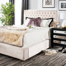 Chester Pearl Velvet Bed