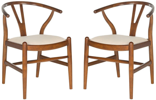 "Aramis 15"" H Wood Dining Chairs - Set Of 2"