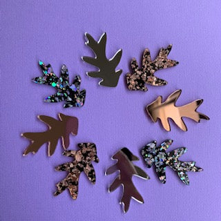 Feuille Statement Studs  - Exclusive to Lyrebird Creative