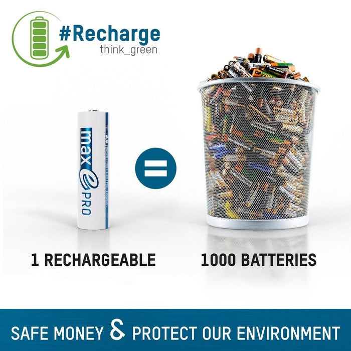 Rechargeable Vs. Disposable Batteries