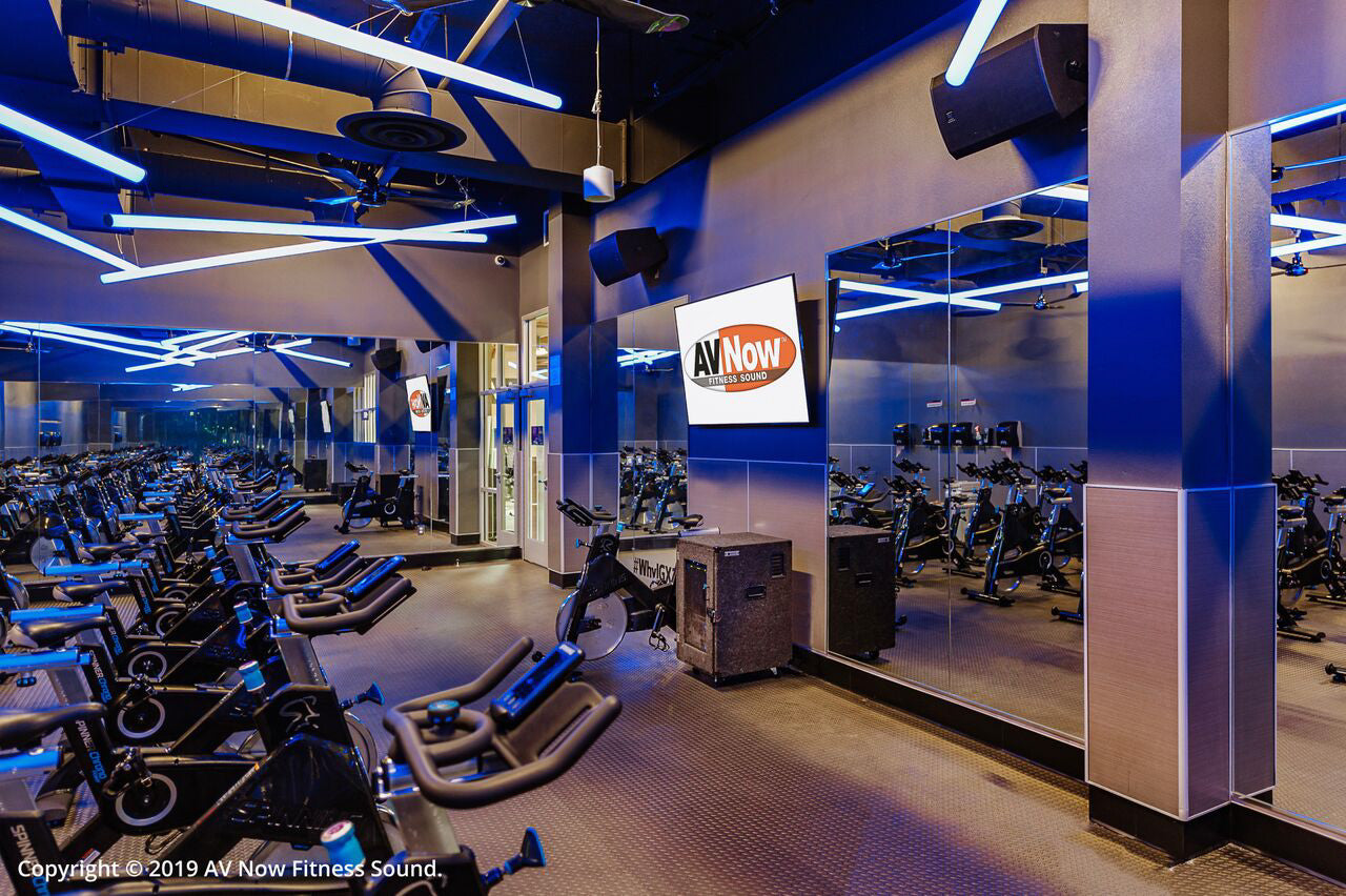 24 Hour Fitness Cycle Room
