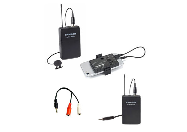 Samson Go Mic Mobile Lapel Microphone Kit for Voice and Music