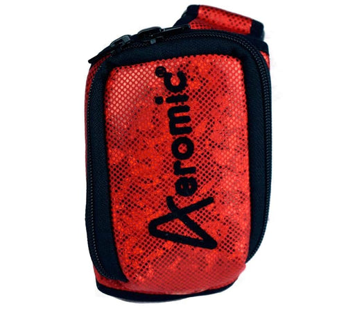 Aeromic Aeromic Fitness Sparkle Zipster (Zipper Sealed) Mic Belt - Red