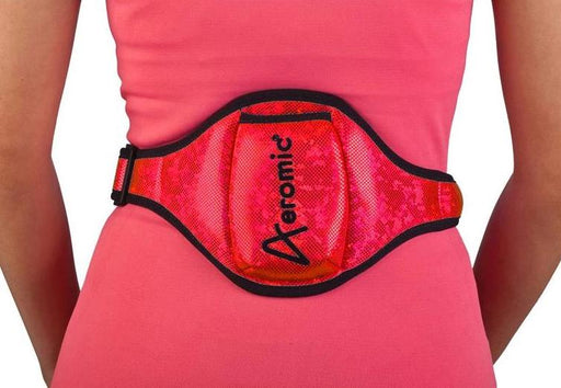 Aeromic Aeromic Standard Vertical Sports Pouch - Red Sparkle
