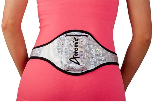Aeromic Aeromic Standard Vertical Sports Pouch - Silver Sparkle