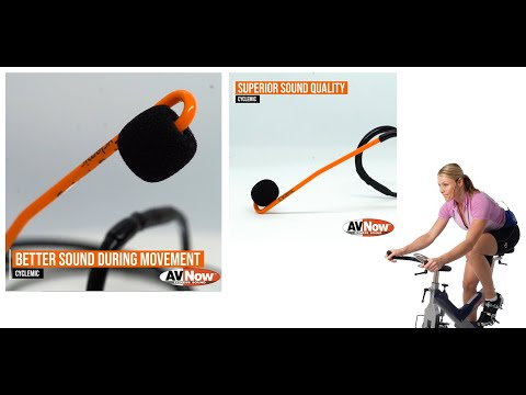 Cycling Microphone for Fitness Instructors