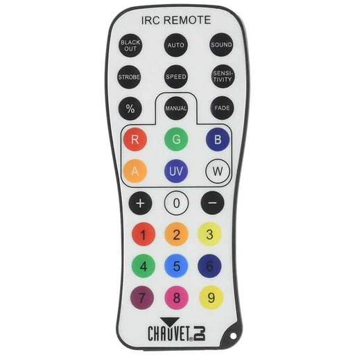 Chauvet IRC-6 Infared Remote Control for CHAUVET DJ Effect Lighting