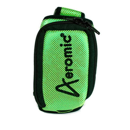 Aeromic Aeromic Fitness Sparkle Zipster (Zipper Sealed) Mic Belt - Lime Green