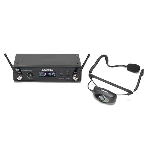 Samson Rack-mountable Samson AirLine 99 Wireless Fitness Headset System with Qe Fitness Mic (AH9-Qe/CR99)