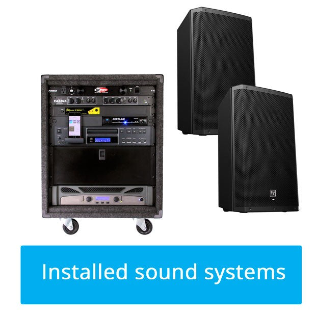 Group Exercise Sound System 1001
