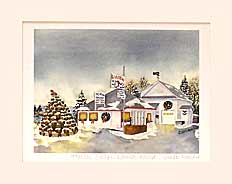 Watercolor Print Winter