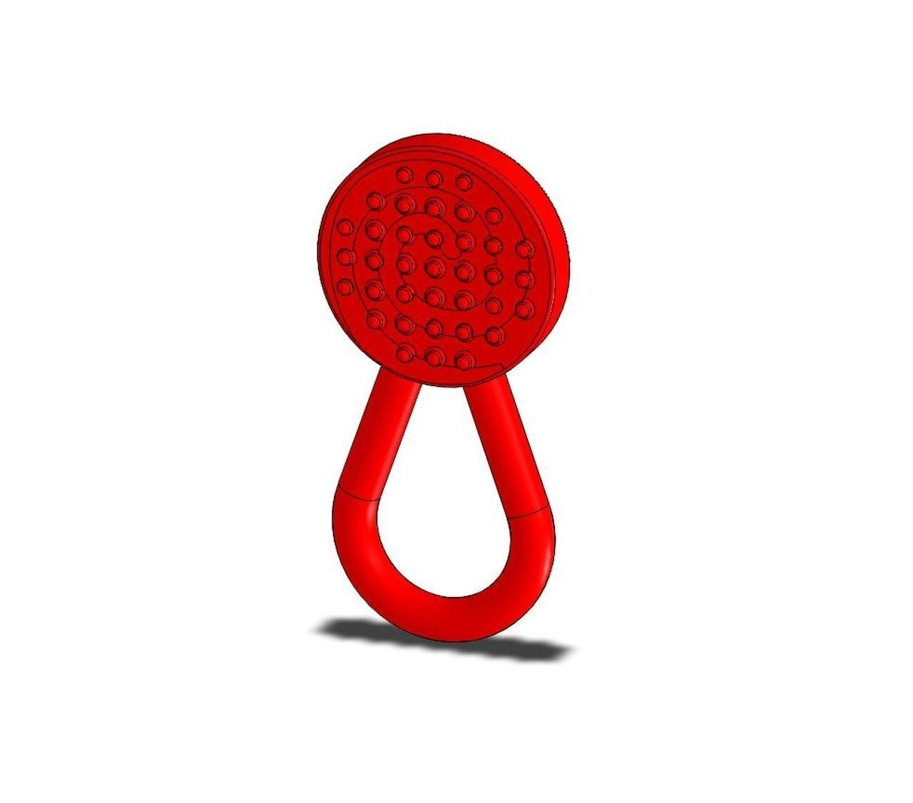 Red Chew Lolli Knobby Textured - Chew Stixx - Finally a fun Chew that children enjoy and are not embarrassed of. Offers multiple chewing surfaces for sensory seekers. PVC, Phthalate, and latex free material. FDA approved material.