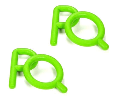 Chewy Tube - Ps & Qs - Green- Stage 1 Teether