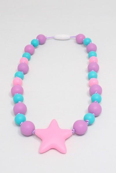 Girls Starlight Collection - Purple-Aqua-Pink with Star