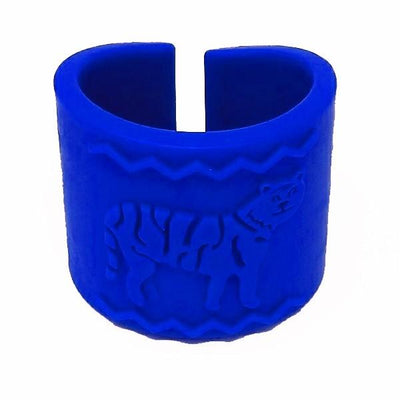 Tactile Tiger Chewable Arm Band - Blue