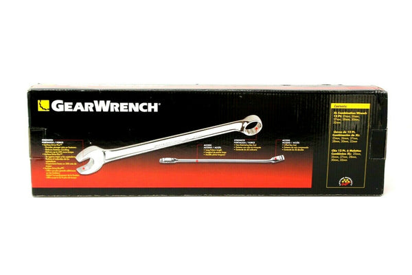 Gearwrench 6 piece 12 point Metric large size wrench set KDT81922