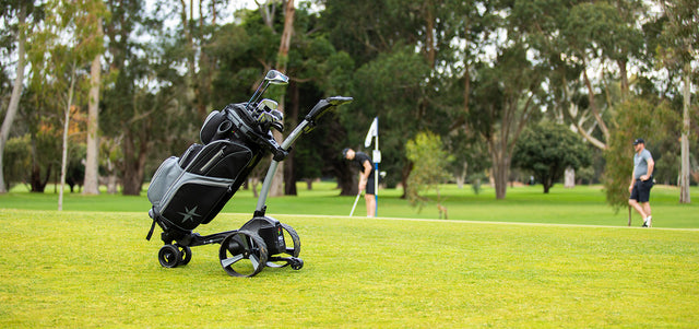 Zip Series Electric Caddies, ideal for cart bags