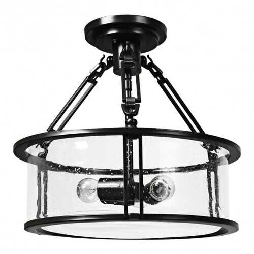 3-Light Flush Mount Ceiling Light