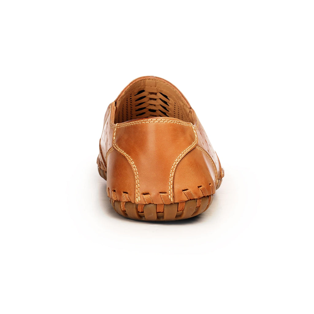 Leather Moccasins For Men - Comfort Fits - Pavers England