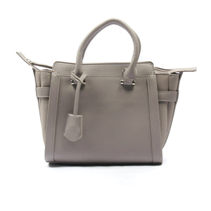Smart grey tote bag for women