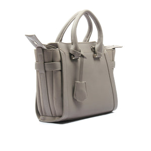 Smart grey tote bag for women - Lt.Grey - Shoulder Bags - Pavers England