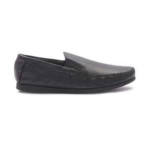 Men's Loafers for Formal Wear - Black - Moccasins - Pavers England