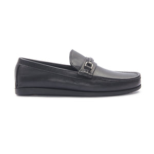 Men's Bit Loafers for Formal Wear - Black - Smart Casuals - Pavers England