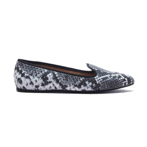 Animal Print Ballerinas for Women - Black Multi - Full Shoes - Pavers England