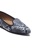 Animal Print Ballerinas for Women - Black Multi - Pumps - Pavers England