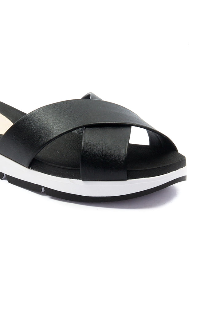 Women's Cross Strap Slippers