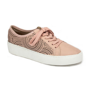 Laser cut Lace-up Shoes for Women