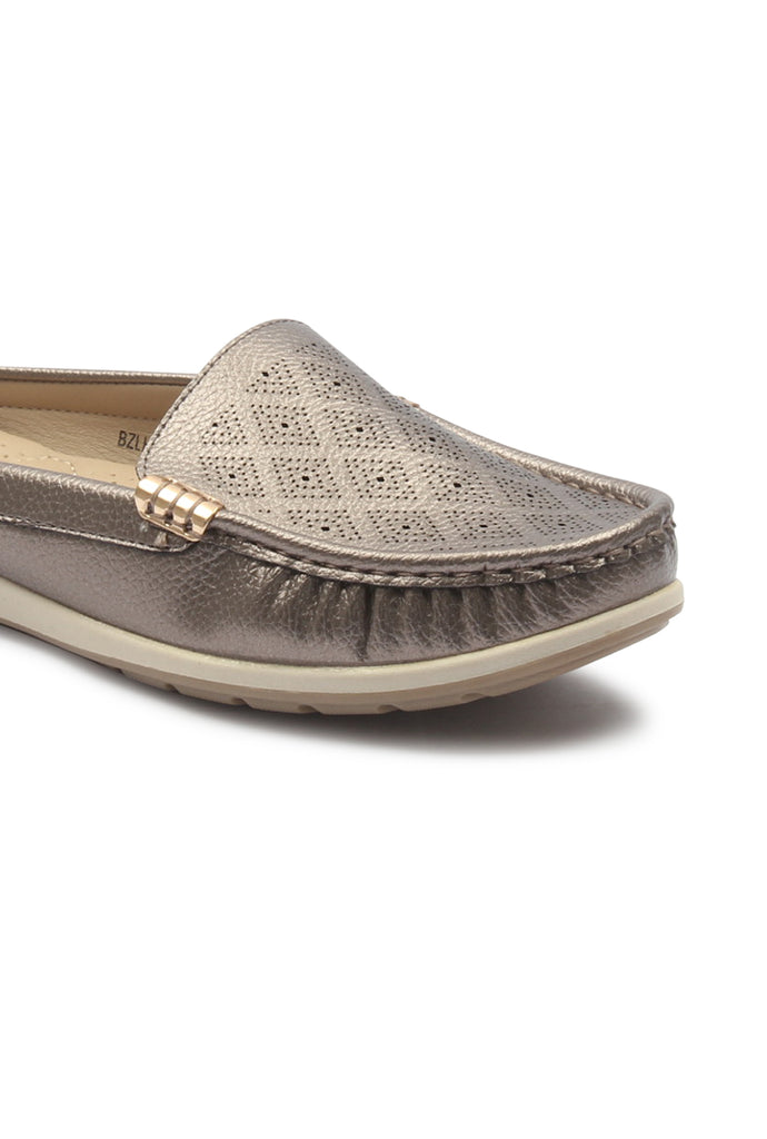 Women's Patterned Half Shoes