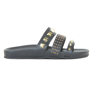 Women's Stud Embellished Sliders