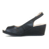 Sandal Heels with velcro fastening for women
