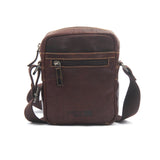 Men's Leather Messenger Bag - Bags & Accessories - Pavers England