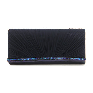 Navy Embellished Wallet