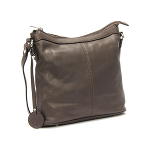 Solid Grey hobo bag for Women
