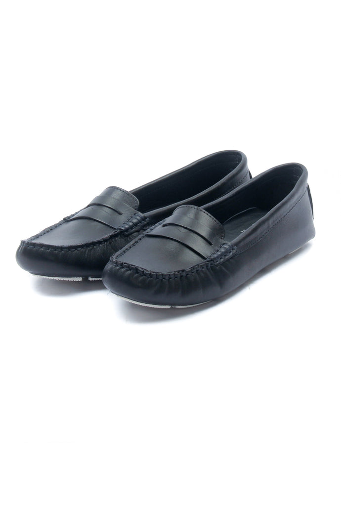 Casual Loafers for Women - Navy - Full Shoes - Pavers England