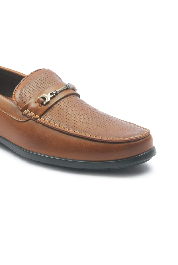 Men's Bit Loafers for Formal Wear - Tan - Formal Loafers - Pavers England