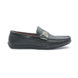 Men's Penny Loafers for Casual Wear - Black - Moccasins - Pavers England