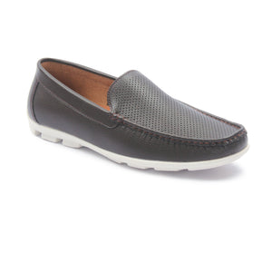 Men's Loafers for Casual Wear - Coffee - Comfort Fits - Pavers England