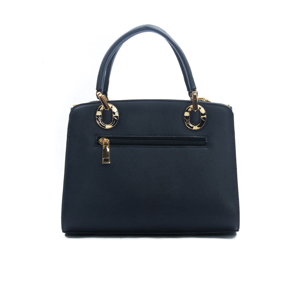 Women's Satchel Sling Bag-Navy - Sling Bags - Pavers England