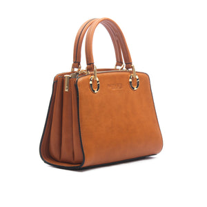 Women's Satchel Sling Bag-Tan - Sling Bags - Pavers England