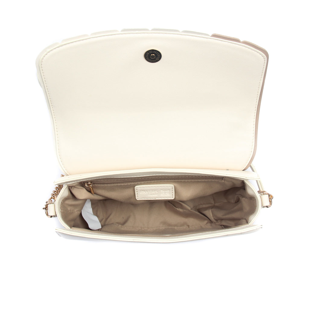 Women's Saddle Sling Bag-Beige - Sling Bags - Pavers England