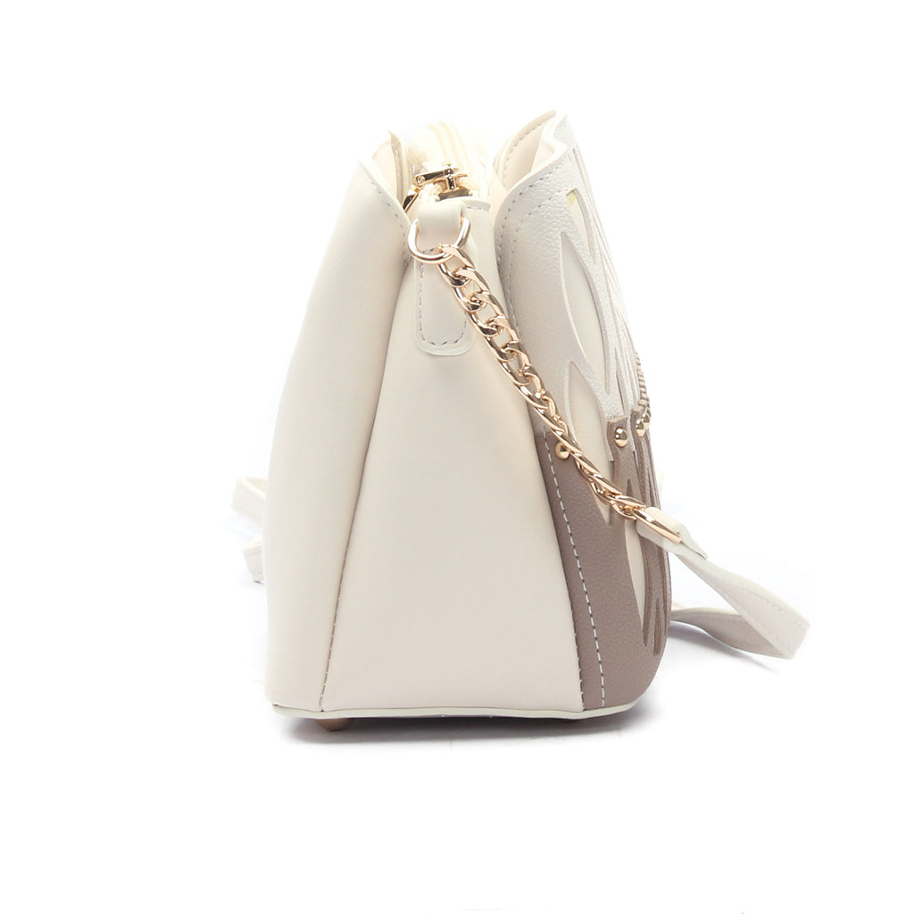Women's Sling Bag-Beige - Sling Bags - Pavers England