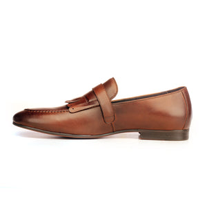 Apron Toe Loafers For Men - Footwear - Pavers England